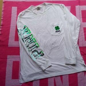 VS PINK Irish campus shirt on hold